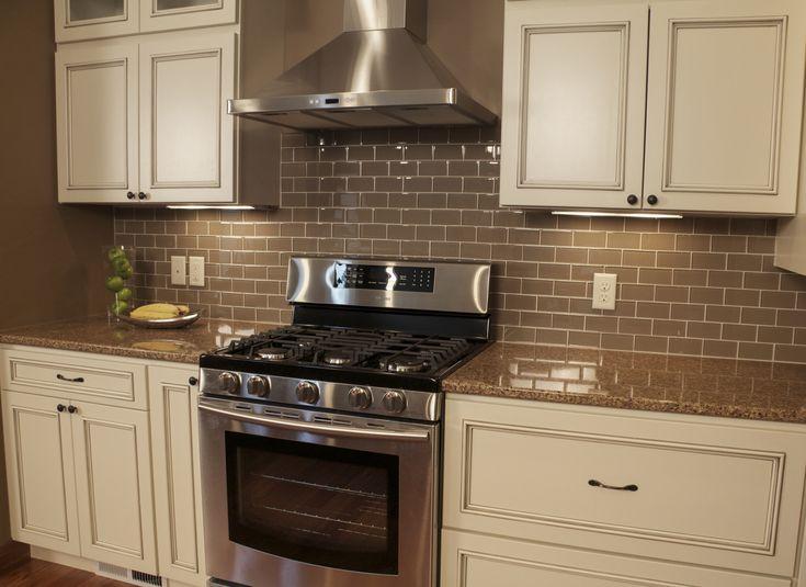 Menards Countertop Options : RiverStone Quartz countertops finish off this classic kitchen shown in ...