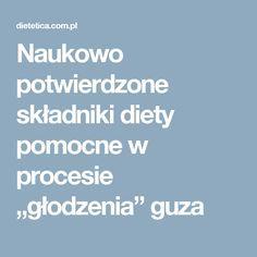"""Naukowo potwierdzone składniki diety pomocne w procesie """"głodzenia"""" guza"""