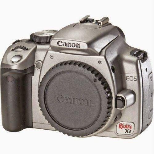 BuyCameraDSLR.com | Canon Rebel XT DSLR Camera (Body Only - Silver) | Buy Digital SLR Camera
