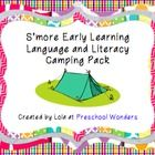 Language and literacy camping ideas for early childhood.