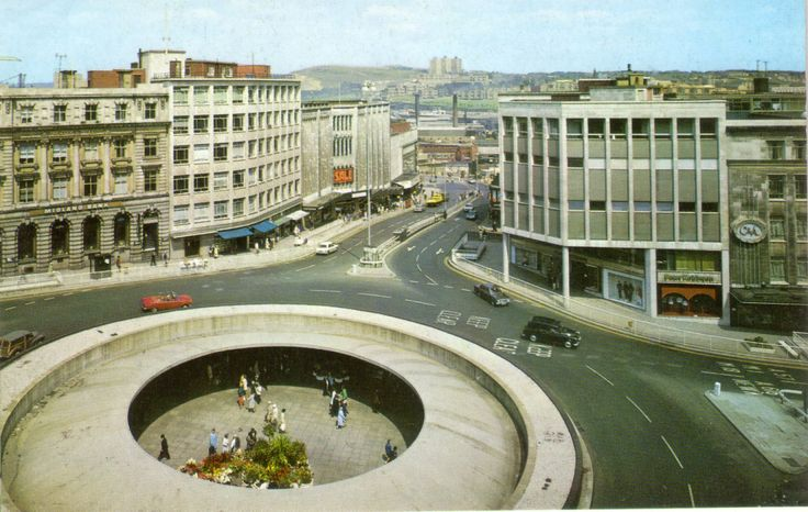Castle Square (Hole in the Road), Sheffield, c. 1960s