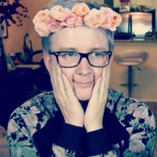 Tyler Oakley his little tinny nose awww so cute