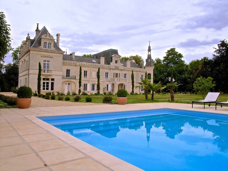 Foussignac Castle Rental: Historical Turreted Castle In A 7 Acre Park, Heated Pool And Spa | HomeAway