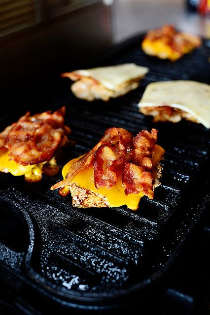 Grilled Chicken Bacon Sliders/buff chic sliders by Ree Drummond / The Pioneer Woman, via Flickr
