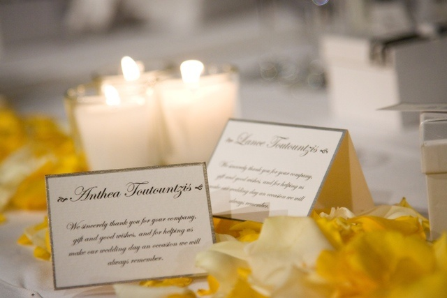 Name place cards  www.touchedbyangels.com.au