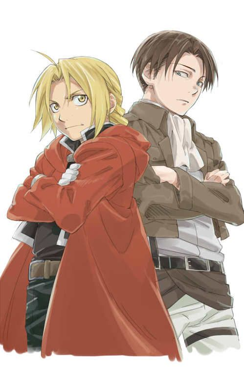 Fullmetal Alchemist and Attack on Titan, The amount of sass would be amazing.