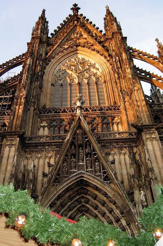 Cathedral Detail Cologne Germany