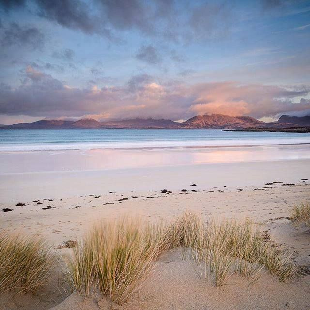 THE SILVER SANDS OF MORAR FOLKS BEACHES OF SILVER SANDS FROM MORAR TO ARISAIG ON THE WEST COAST OF SCOTLAND....SHARED.FROM...SHARON WILSON AND VISIT SCOTLAND....