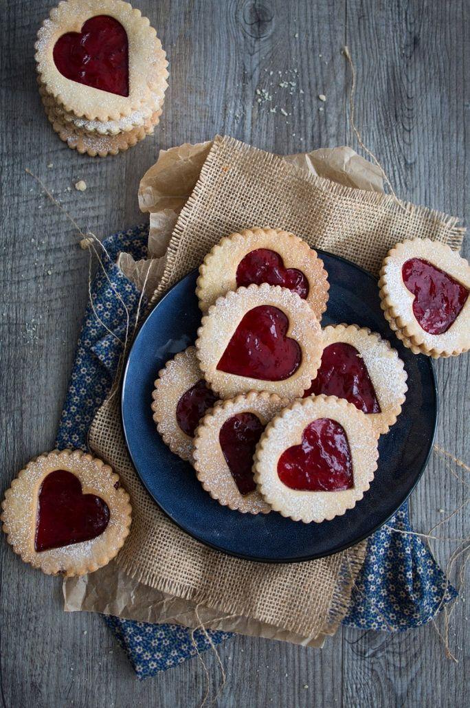 Hearts 'n Jam Cookies