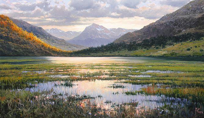 Lago En Pirineos