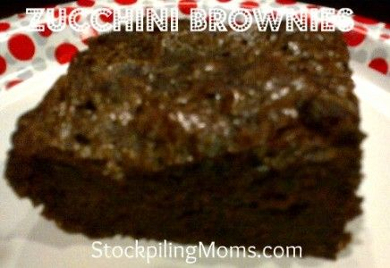 Zucchini Brownies: Desserts Sweet