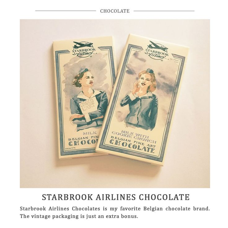 Five Little Things - Starbrook Airlines Chocolate