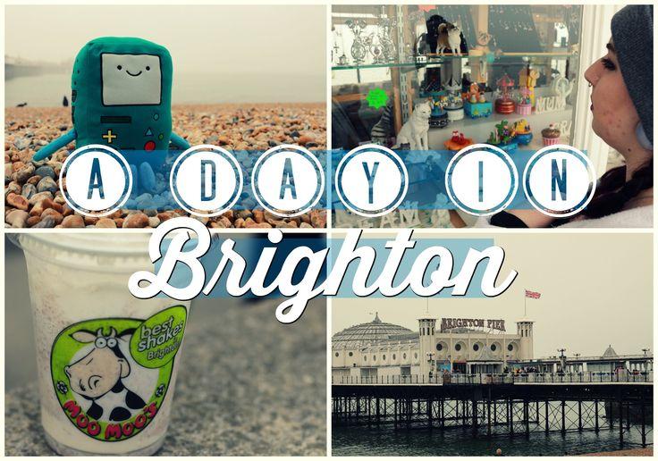 VLOG: A Day In Brighton | Charldeeblogs