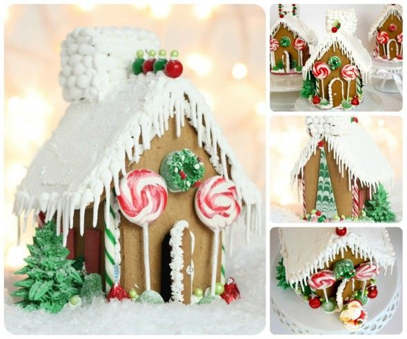 Easy frosting recipe for gingerbread houses