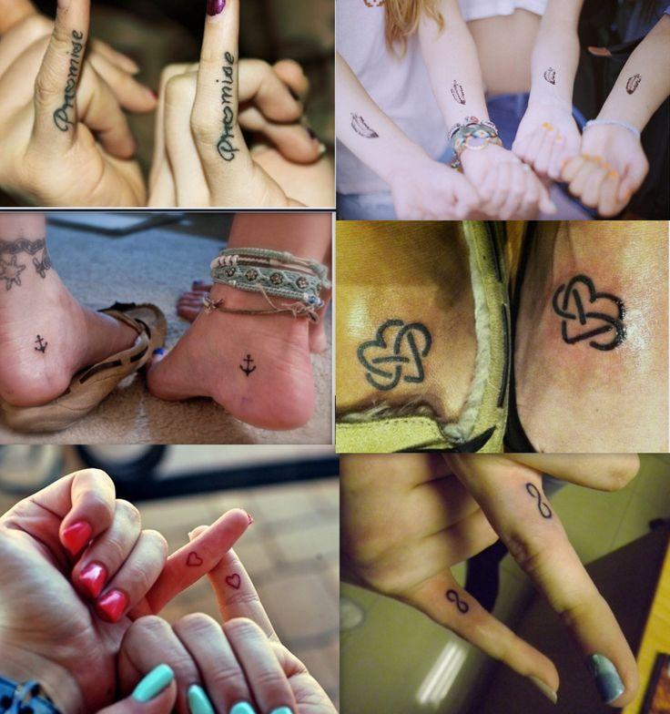 best friend matching tattoo ideas :)