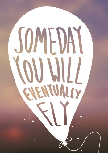 """""""Someday You Will Eventually Fly"""" by Mike Nguyen."""