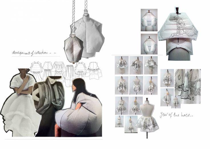 Fashion Sketchbook - fashion sketches; fashion design process; fashion portfolio // Jodi Worbey