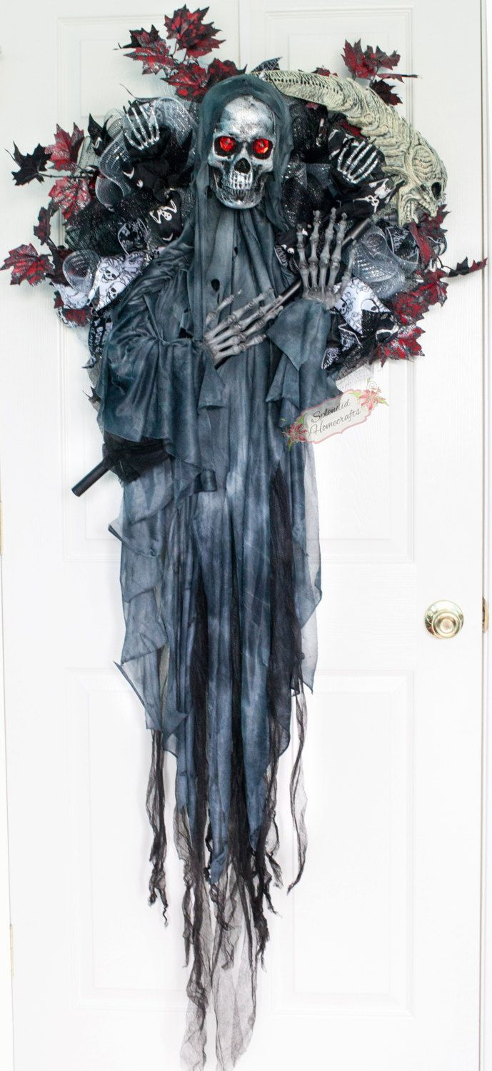 how to make a grim reaper scythe for halloween