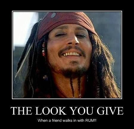 jack sparrow quotes rum - Google Search