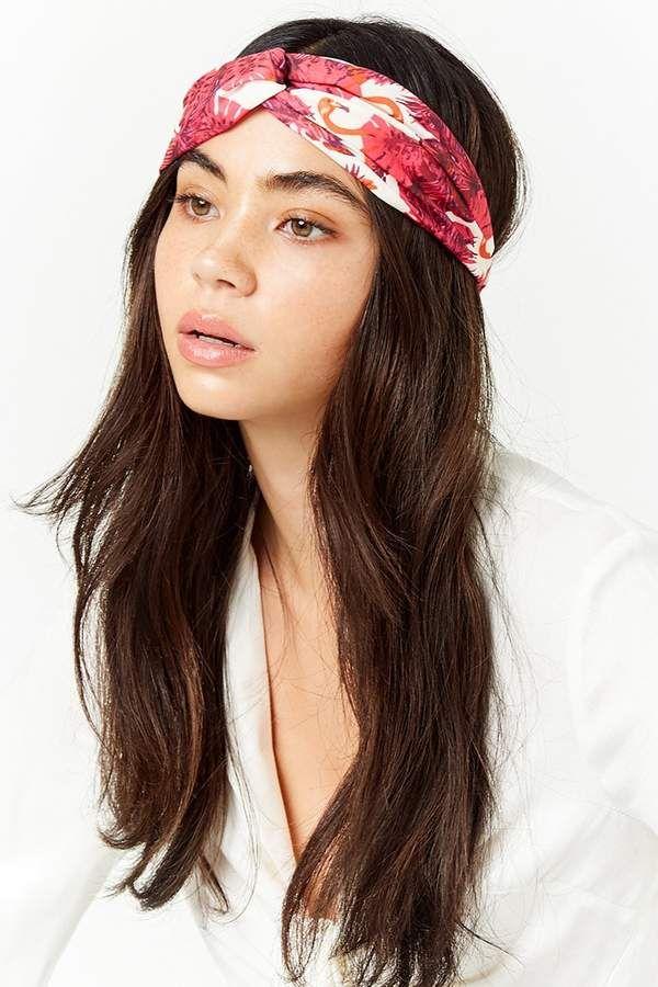 Forever 21 Twist-Front Floral Headwrap  d150ba530d3