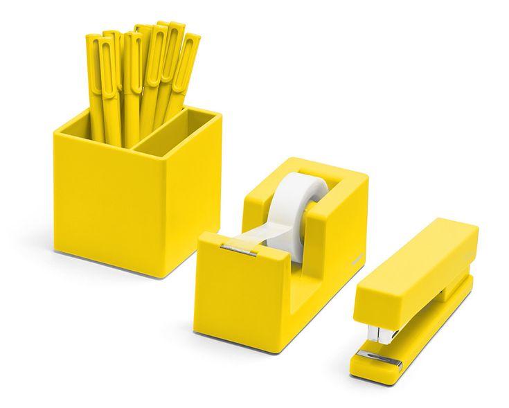 Yellow Desk Accessories - Home Office Furniture Set Check more at http://michael-malarkey.com/yellow-desk-accessories/