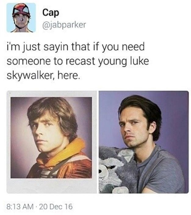 Sebastian Stan is the perfect man for the job, I swear. He can act so friggin well too, did you know?