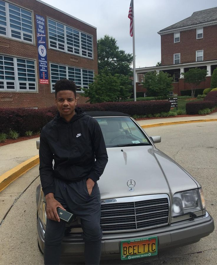Celtics Fans Will Enjoy This Photo Of Markelle Fultz With Red Auerbach's Old Car