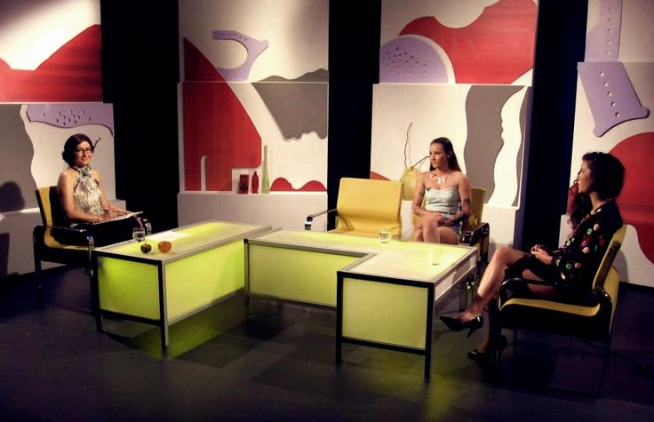 Live on tv ! Talking with Roxana Morun, about aour new collection HURO Me by Román Gabriella & PSINKELF by Onisa Alexandra