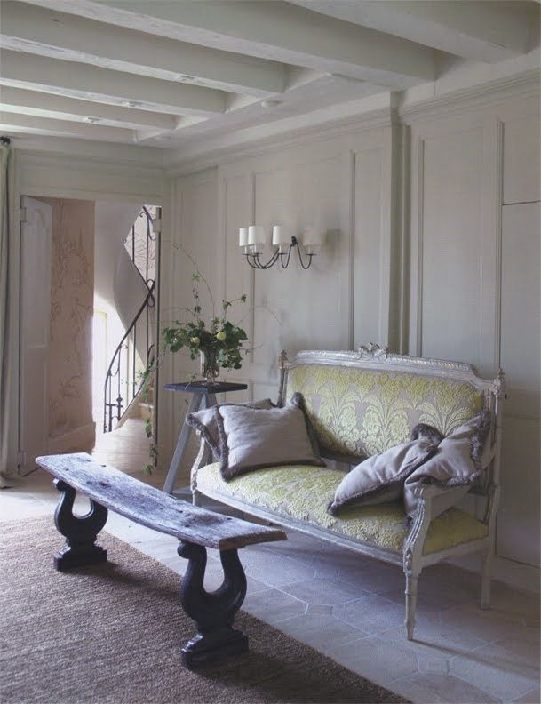 Shabby French Finesse....See More at thefrenchinspiredroom.com
