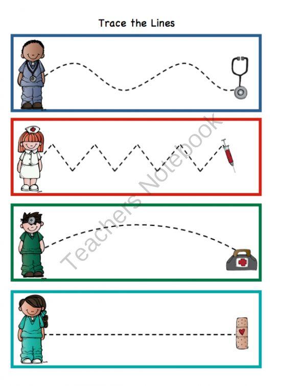 preschool printables doctor printable - Printable Preschool Crafts
