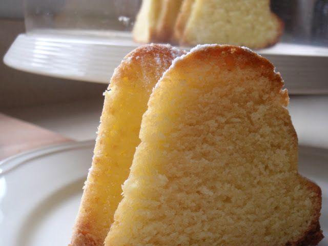 Bizcocho de crema de queso y limón