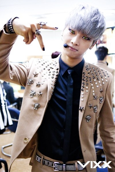n vixx; I love the contacts. They're just the right amounts enchanting and creepy.