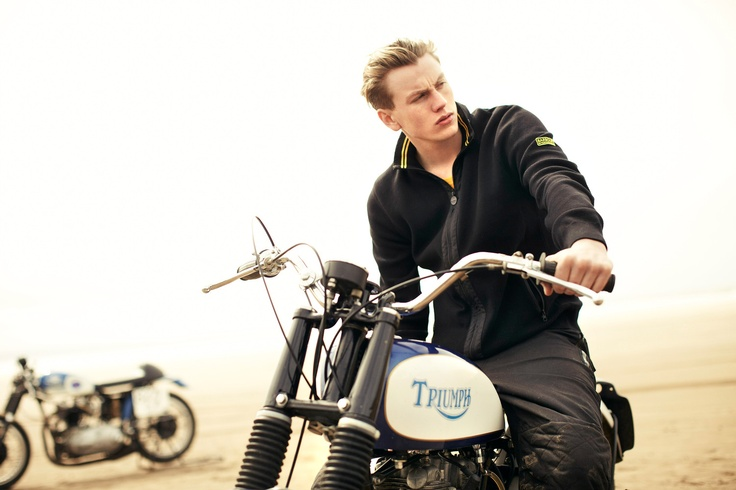 Classic motorcycle styles from Barbour