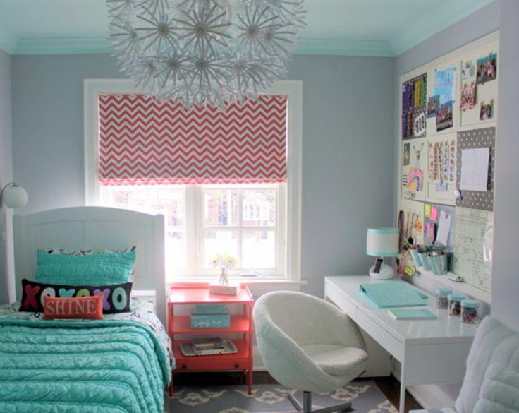 Small teen bedroom