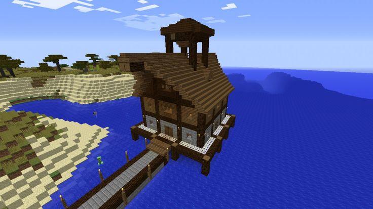 Lagerhaus am Wasser