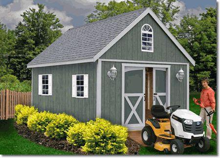 Best Barns Belmont 12 x 24 Wood Storage Shed Kit