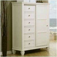 mazeltovfurniture.com Eight Drawer Chest with Sliding Door - 201307 - Coaster Furniture $770 free shipping
