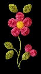 cs-pink flower & bud-sm