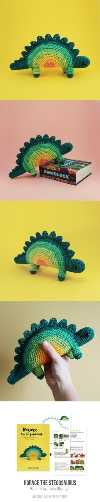 Horace The Stegosaurus Amigurumi Pattern