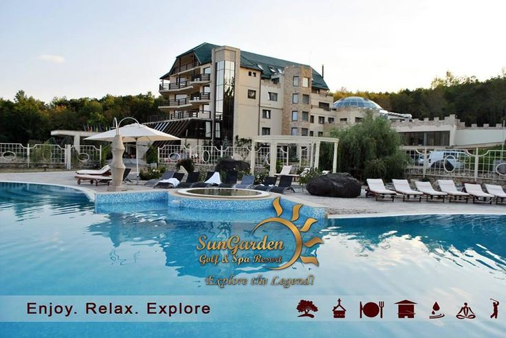 Feel good - TODAY! SunGarden Golf & SPA Resort is a matter of heart and passion! http://sungardenresort.ro