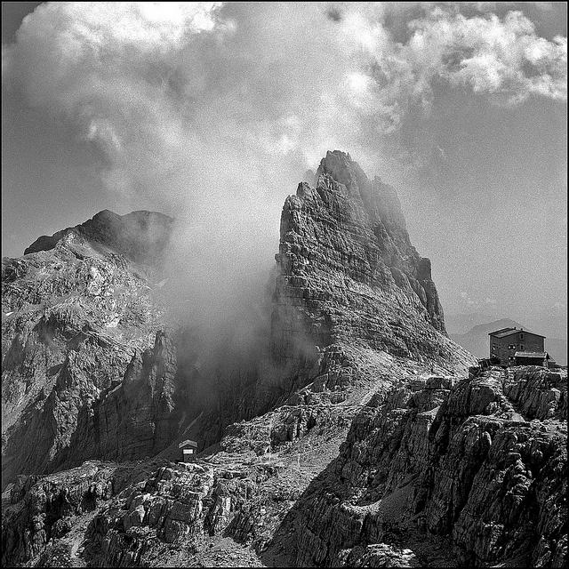 Croz del Rifugio - Dolomiti di Brenta by Alberto Bregani