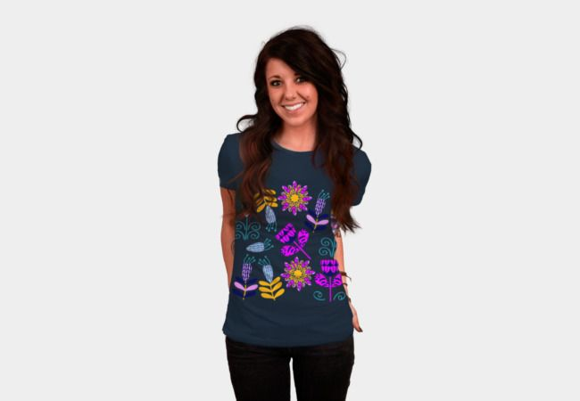 #DBH #t-shirts #nature #floral #flora #abstract #apparel #clothing