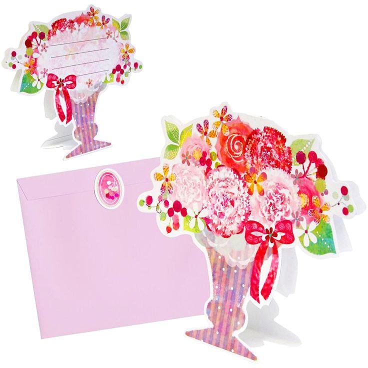 簡単無料ダウンロードで#母の日にカーネーションのメッセージカードが作れます!感謝の気持ちを込めて是非作ってみて下さいね☺✂https://goo.gl/Gixsv1とっても素敵!╰(*´︶`*)╯♡