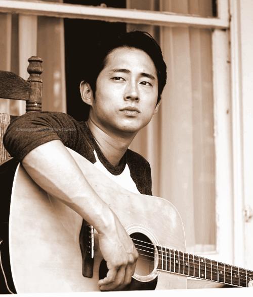 steven yeun   Tumblr-- Okay! So... he's my favorite. I love you, marry me?