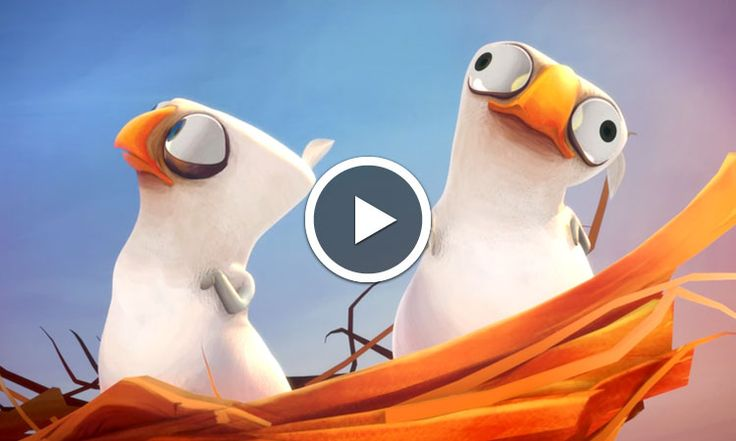Sales Gosses : un court-métrage d'animation français met en scène avec humour un rapace exaspéré par ses oisillons