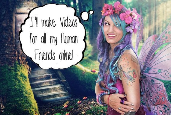 Custom Video ECard from Lily The Fairy by LilysShop on Etsy, $5.00