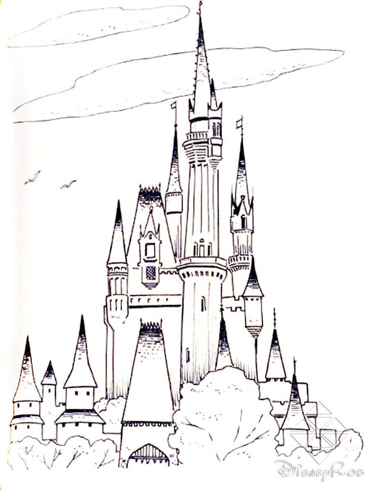Castles 20 Coloring Pages For Teens And Adults