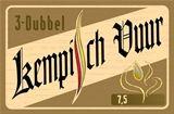 Kempisch Vuur 3-Dubbel heeft een lichtbruine, roestige kleur (55 EBC). De storting is 16° Plato, met een uiteindelijk alcoholgehalte van 7,5 vol%.  Naast de klassieke pilsmout zorgen een respectabele hoeveelheid Munich en Cara-120 voor de volmondigheid. Enkele procentjes Roast geven dan weer een aangename gebrande toets in de afdronk.