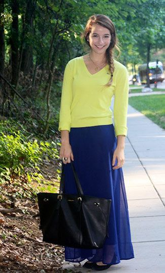 College student fashion & style at American University | College Fashion.net
