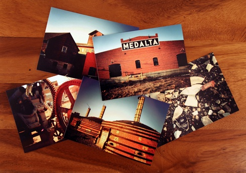 Medalta Potteries Postcards // Photo Editing Luke